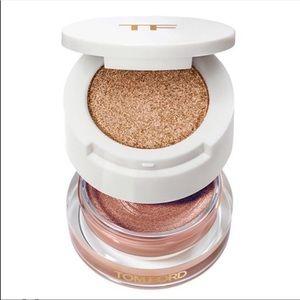 Tom Ford Cream & Powder Eye Color In Golden Peach
